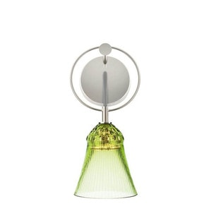 """Бра, настенный светильник """"Шартрёз-зеленый"""" 29 x 12см"""