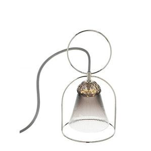 """Настольная лампа """"Фланель-серый"""" 30 x 15,8см"""