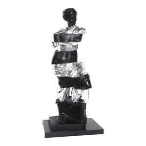 """Статуэтка """"Транхлюцид - черный, серебряный"""" 66см"""