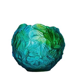 """Ваза """"Синий, зеленый"""" 22см"""