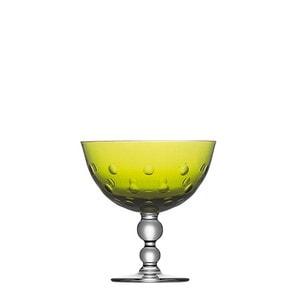 "Чаша на ножке ""Шартрёз-зеленый"" 12см"