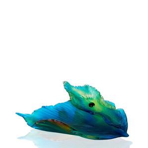 """Чаша """"Золотой, янтарный, синий, зеленый"""" 31,5см"""