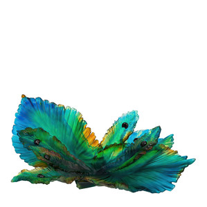 """Арт-объект """"Золотой, янтарный, синий, зеленый"""" 62см"""