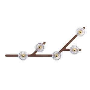 Бра, настенный светильник на 5 ламп 14,5 x 130см
