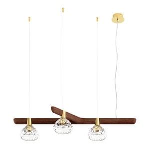 Подвесная лампа на 3 ламп (Правый) 14,5 x 96см