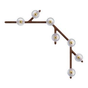 Подвесная лампа на 7 ламп 14,5 x 143см