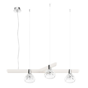 Подвесная лампа на 3 ламп (Левый) 14,5 x 96см