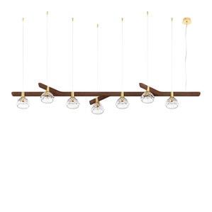Подвесная лампа на 7 ламп 14,5 x 202см