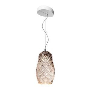 """Подвесная лампа """"Фланель-серый"""" 70-200 x 19см"""