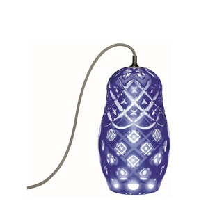 """Настольная лампа """"Темно-синий"""" 34 x 19см"""