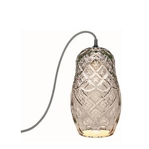 """Настольная лампа """"Фланель-серый"""" 34 x 19см"""