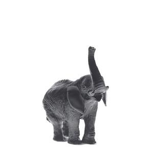 """Статуэтка """"Слон - черный"""" 23см"""