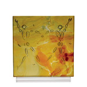 """Статуэтка """"Танец любви - желтый, янтарный"""" 32см"""