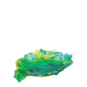 """Чаша """"Зеленый, синий, желтый"""" 27 см"""