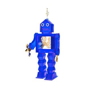 """Статуэтка """"Робот Даумот 163 - синий, золотой"""" 42см"""