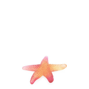 "Статуэкта ""Морская звезда - янтарный, красный"" 11см"