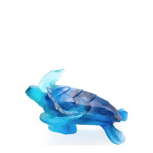 """Статуэтка """"Морская черепаха - синий"""" 25см"""