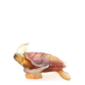 "Статуэтка ""Морская черепаха - янтраный, серый"" 25см"
