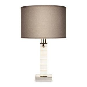 """Настольная лампа """"Фланель-серый"""" 43,4 x 20см"""
