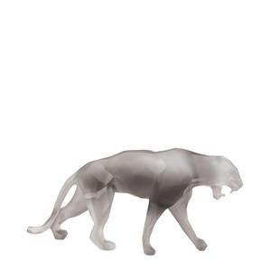 """Статуэтка """"Дикая пантера - серый"""" 33см"""