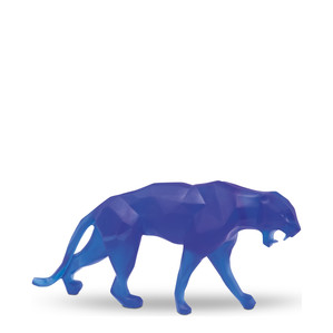 """Статуэтка """"Дикая пантера - синий"""" 33см"""