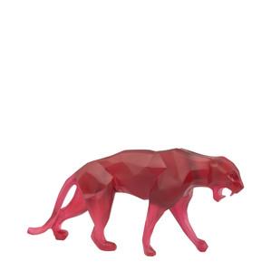 """Статуэтка """"Дикая пантера - красный"""" 33см"""