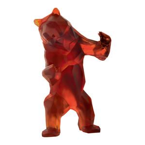 """Статуэтка """"Дикий медведь - темно-янтарный"""" 50см"""