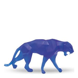 """Статуэтка """"Дикая пантера - синий"""" 73см"""