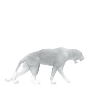 """Статуэтка """"Дикая пантера - белый"""" 73см"""