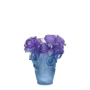 """Ваза """"Синий, фиолетовый"""" 17см"""