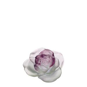 """Статуэтка """"Роза - розовый, зеленый"""" 11см"""