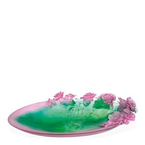 """Чаша """"Розовый, зеленый"""" 61см"""