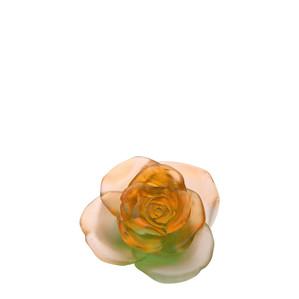 """Статуэтка """"Роза - оранжевый, зеленый"""" 11см"""