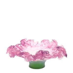 """Чаша """"Розовый, зеленый"""" 35,5см"""