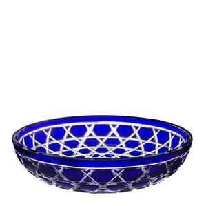 """Чаша для центра стола """"Алепский синий"""" 39см"""