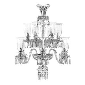 Люстра на 12 свечей (Короткий) 105 x 85см