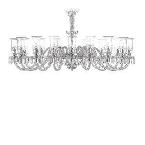 Люстра на 16 свечей (Овальный) 75 x 160см