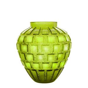 """Ваза """"Зеленый"""" 28см"""