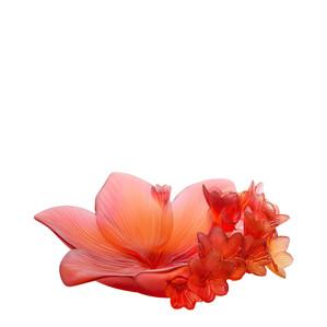 """Арт-объект """"Оранжевый, красный"""" 32см"""