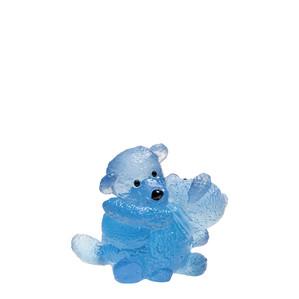 """Статуэтка """"Медвежата близнецы - синий"""" 11см"""