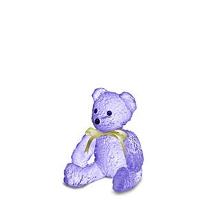 """Статуэтка """"Медвежонок - фиолетовый"""" 15см"""