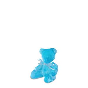 """Статуэтка """"Медвежонок - синий"""" 8см"""