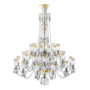 Люстра на 36 свечей- (Золотая гравюра) 200 x 150см