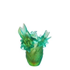 """Ваза """"Зеленый"""" 21см"""