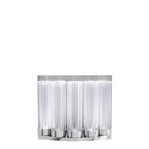 """Бра, настенный светильник из 5-и элементов """"Хромированный"""" 20x23x11см"""