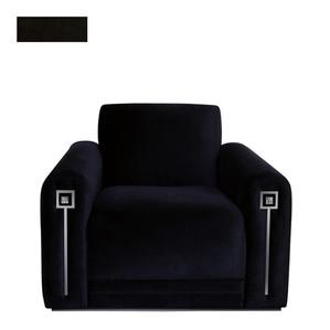 """Кресло """"Классический бархат, эбеновое дерево"""" 104x94x80см"""