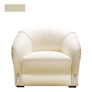 """Кресло """"Кожа, слоновая кость"""" 104x94x78см"""