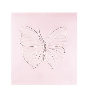 """Декоративная панель """"Бабочка - розовый"""" 42см"""