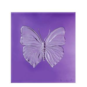 """Декоративная панель """"Бабочка - пурпурный"""" 42см"""