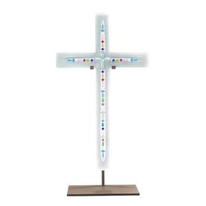 "Статуэтка ""Крест - разноцветный хрусталь"" 106см"